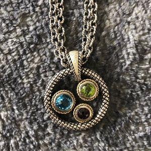 Andrea Candela NEW Multi Stone Necklace/Pendant